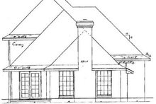Architectural House Design - Traditional Exterior - Rear Elevation Plan #52-123
