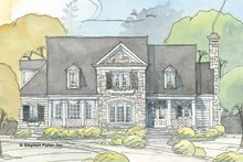 House Design - Country Exterior - Front Elevation Plan #429-372