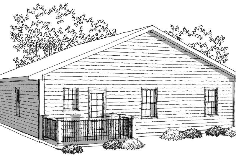 Ranch Photo Plan #70-1016 - Houseplans.com