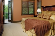 European Interior - Master Bedroom Plan #929-891