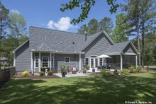 Dream House Plan - Country Exterior - Rear Elevation Plan #929-670