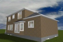 House Plan Design - Traditional Exterior - Rear Elevation Plan #1060-19