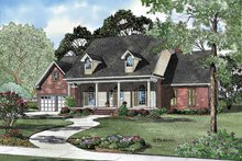 Home Plan - Classical Exterior - Front Elevation Plan #17-3100