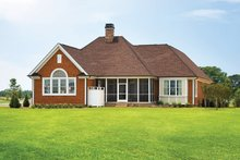 Country Exterior - Rear Elevation Plan #929-694