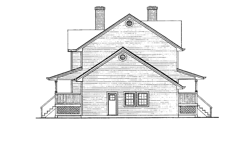 Victorian Exterior - Other Elevation Plan #47-847 - Houseplans.com