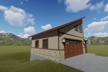 Dream House Plan - Modern Exterior - Other Elevation Plan #1060-72