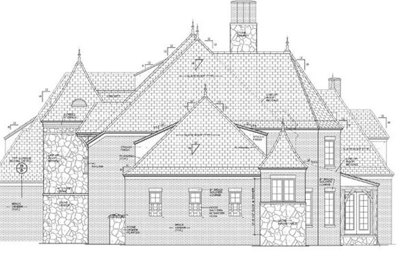 European Exterior - Other Elevation Plan #453-597 - Houseplans.com