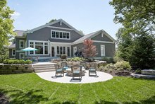 House Plan Design - Craftsman Exterior - Rear Elevation Plan #928-295