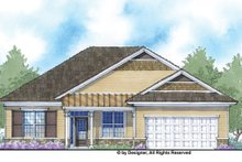 Home Plan - Country Exterior - Front Elevation Plan #938-71