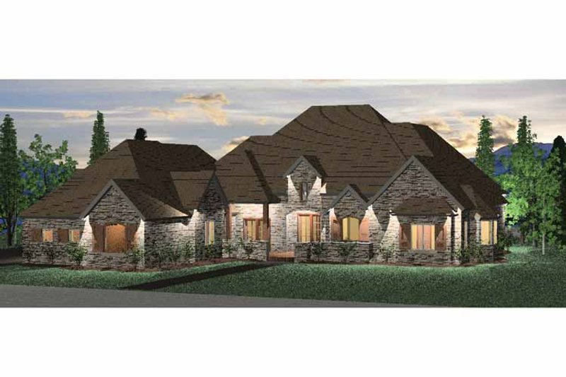 Country Exterior - Front Elevation Plan #937-8 - Houseplans.com