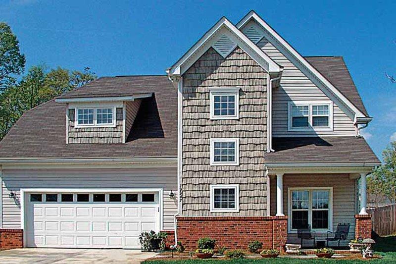 Craftsman Exterior - Front Elevation Plan #453-268