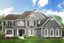 Dream House Plan - Traditional Exterior - Front Elevation Plan #1010-205