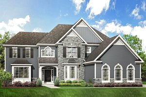 Traditional Exterior - Front Elevation Plan #1010-205