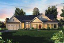 Craftsman Exterior - Front Elevation Plan #57-648