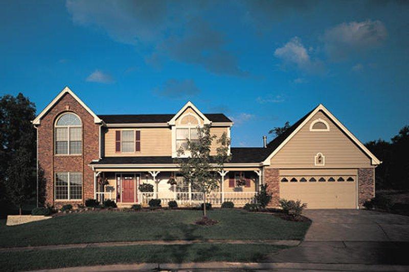 Victorian Exterior - Front Elevation Plan #57-101 - Houseplans.com