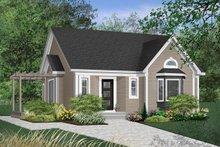 House Design - Cottage Exterior - Front Elevation Plan #23-599