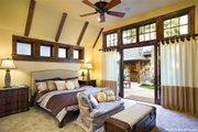 European Style House Plan - 3 Beds 3.5 Baths 4142 Sq/Ft Plan #48-625 Interior - Master Bedroom