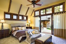 Dream House Plan - Master Bedroom - 4000 square foot European home