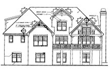 Traditional Exterior - Rear Elevation Plan #927-6