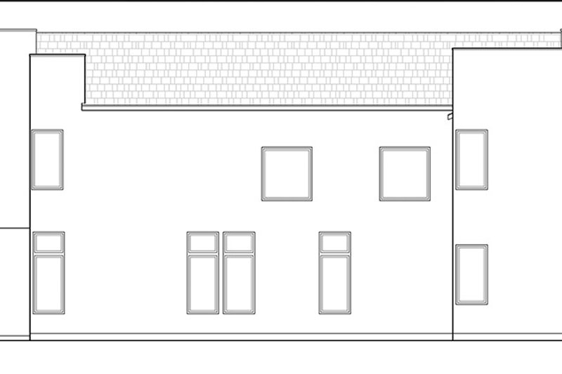 Contemporary Exterior - Other Elevation Plan #1021-12 - Houseplans.com