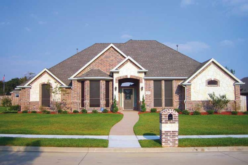 Home Plan - Country Exterior - Front Elevation Plan #84-647