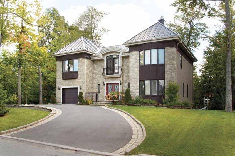 Architectural House Design - Mediterranean Exterior - Front Elevation Plan #23-2343