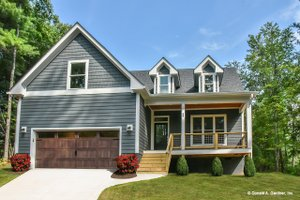 Country Exterior - Front Elevation Plan #929-647