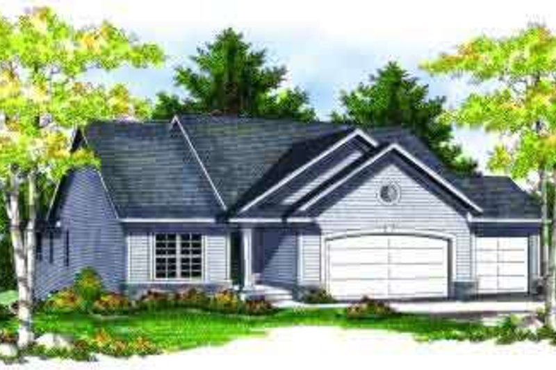 Traditional Exterior - Front Elevation Plan #70-691