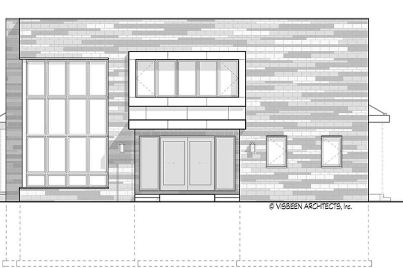 Contemporary Exterior - Other Elevation Plan #928-296 - Houseplans.com