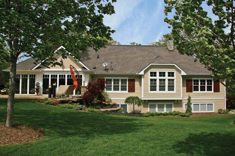 Craftsman Exterior - Rear Elevation Plan #928-223 - Houseplans.com