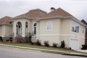 European Style House Plan - 4 Beds 3.5 Baths 2588 Sq/Ft Plan #119-116 Exterior - Other Elevation