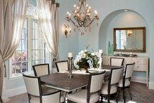 House Plan Design - Mediterranean Interior - Dining Room Plan #1017-166