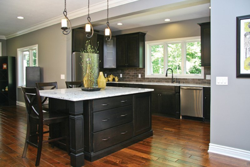 Prairie Interior - Kitchen Plan #928-248 - Houseplans.com