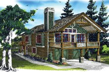 House Plan Design - Country Exterior - Front Elevation Plan #942-20