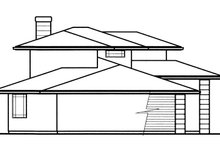 Prairie Exterior - Other Elevation Plan #509-78