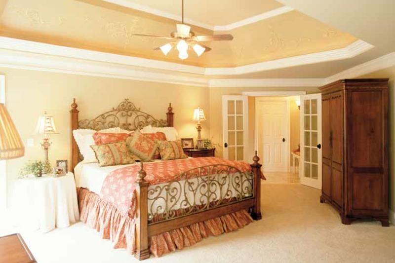 Mediterranean Interior - Master Bedroom Plan #927-639 - Houseplans.com