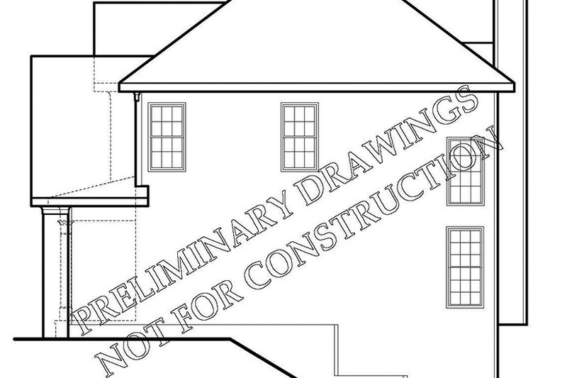 Colonial Exterior - Other Elevation Plan #927-218 - Houseplans.com