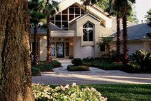 Home Plan - Contemporary Exterior - Front Elevation Plan #1039-4