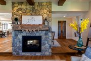 Country Style House Plan - 5 Beds 4.5 Baths 4724 Sq/Ft Plan #70-1488 Interior - Family Room