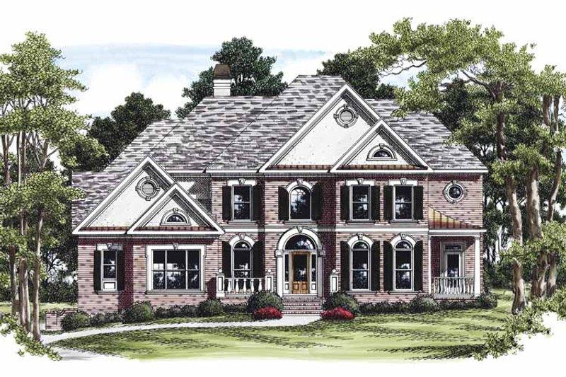 Colonial Exterior - Front Elevation Plan #927-456 - Houseplans.com