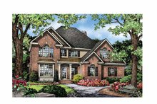 Dream House Plan - Traditional Exterior - Front Elevation Plan #929-842