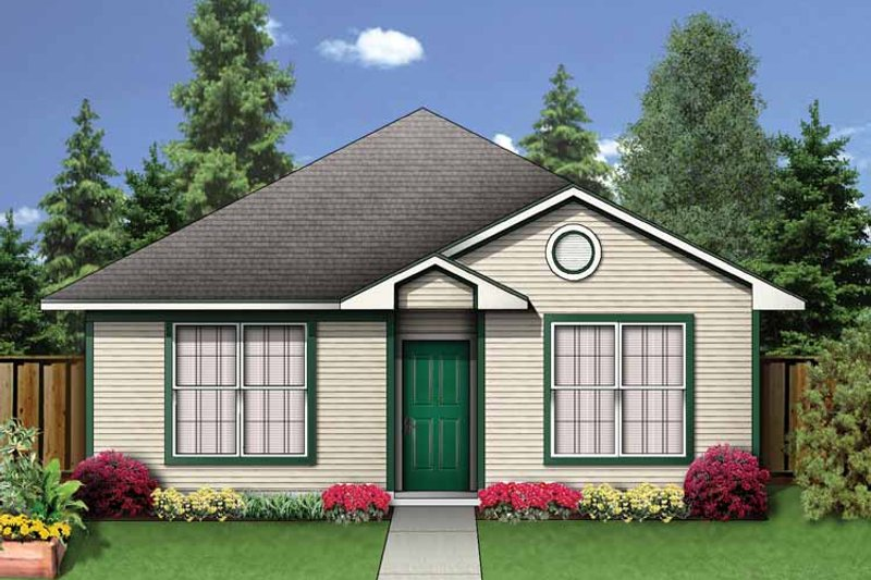 Colonial Exterior - Front Elevation Plan #84-654 - Houseplans.com