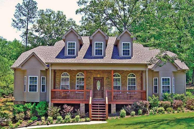 Home Plan - Country Exterior - Front Elevation Plan #314-232