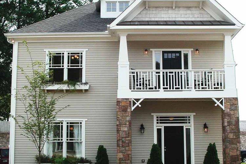 House Plan Design - Craftsman Exterior - Front Elevation Plan #54-226