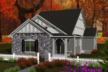 House Design - Ranch Exterior - Front Elevation Plan #70-1113
