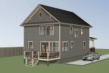 Dream House Plan - Craftsman Exterior - Other Elevation Plan #79-266