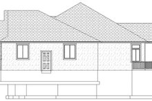 Dream House Plan - Ranch Exterior - Other Elevation Plan #1060-30