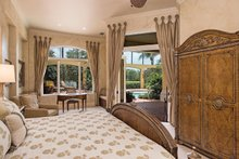 Mediterranean Interior - Master Bedroom Plan #930-413