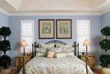 Architectural House Design - Country Interior - Bedroom Plan #929-897