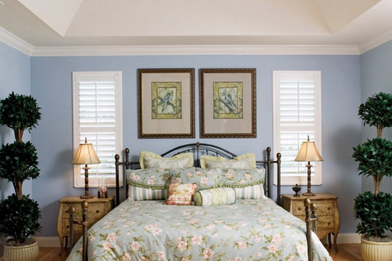 Country Interior - Bedroom Plan #929-897 - Houseplans.com